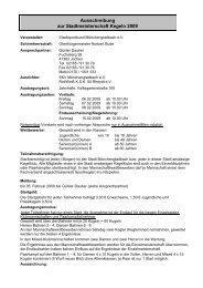 Ausschreibung SMS Kegeln - Stadtsportbund Mönchengladbach e.V.