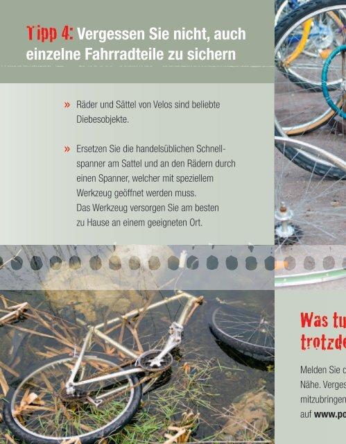 Ist Ihr Velo noch Ihr Velo? - Kantonspolizei Bern