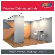 [PDF] Modulare Kleinmessestände - SIGNal Reklame