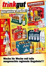 Attraktive Preise! - Trinkgut