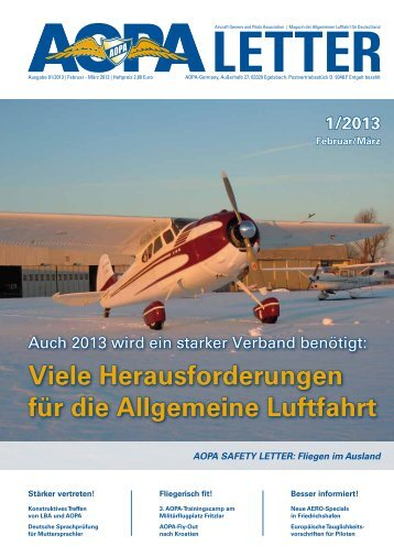 Download als PDF-Datei (4,5 MB) - AOPA - Germany
