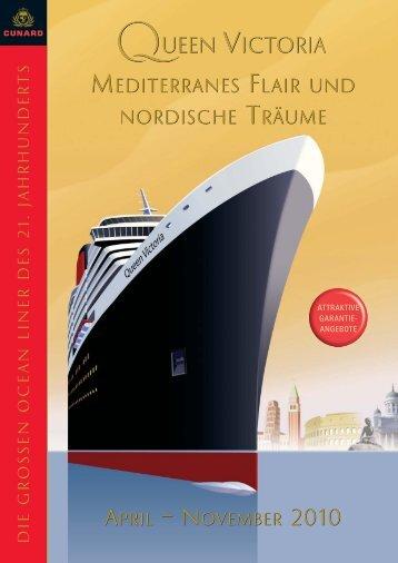 MEDITERRANES FLAIR UND NORDISCHE TRÄUME ... - Cunard