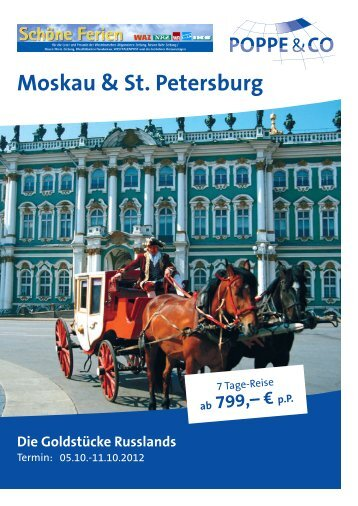 Moskau & St. Petersburg - Columbus-Essen