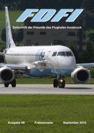 Zeitschrift der Freunde des Flughafen Innsbruck Ausgabe 99 ...