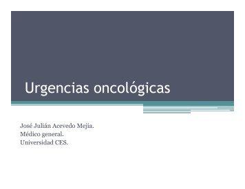 UrgenciasOncologicas2013