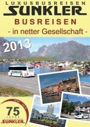 BUSREISEN - - in netter Gesellschaft - Autobus und Reisebüro ...