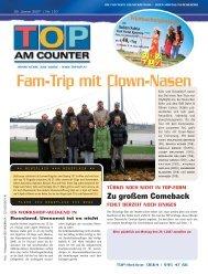 Fam-Trip mit Clown-Nasen - top am counter