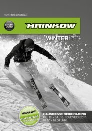 Angebote in REICHRAMING - WINTERHITS als PDF - Hrinkow