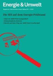 Energie & Umwelt - Schweizerische Energie-Stiftung