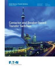 Contactor and Breaker-based Transfer Switches.pdf - Eaton Canada