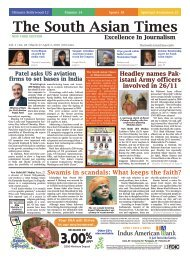 Volume 2, Issue 48 March 27 - The South Asian Times