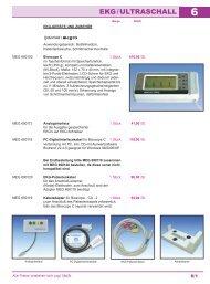 Kapitel 6: EKG/Ultraschall (PDF, 0,62 MB - MEDI-SPEZIAL® Arzt