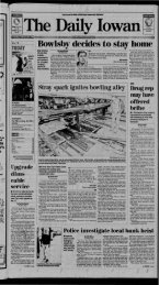 View - The Daily Iowan Historic Newspapers - University of Iowa