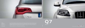 Katalog zum Audi Q7