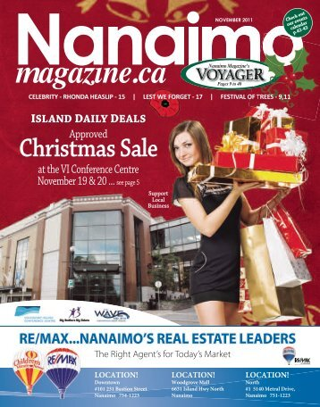 November 2011 - Nanaimo's Downtown Magazine