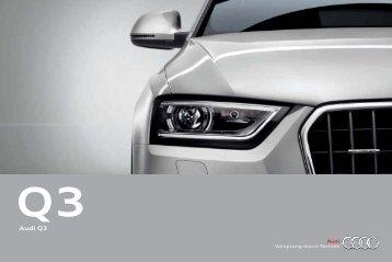 Katalog zum Audi Q3