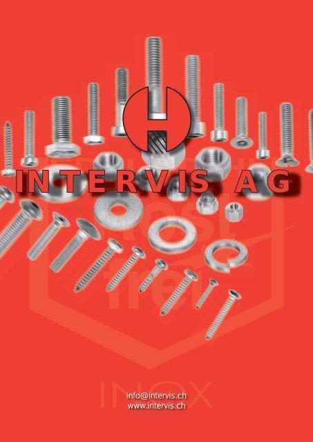 Sortiment INTERVIS (pdf) - Intervis AG