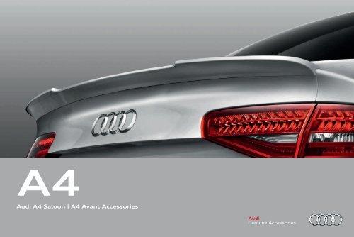 Audi A4 Saloon A4 Avant Accessories