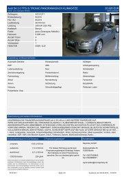 Audi S4 3.0 TFSI S TRONIC QUATTRO NAVI PLUS XENON PTS ...