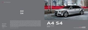 Audi A4 | A4 Avant Audi S4 - Audi of America > Home