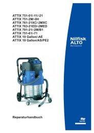 ATTIX 751-01 - Nilfisk-ALTO