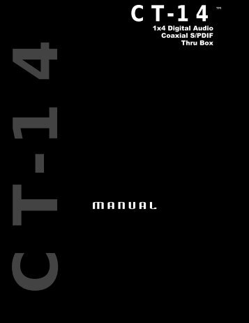CT -14 - M-Audio