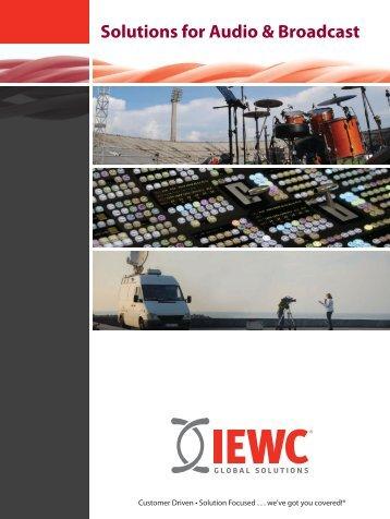 Solutions for Audio & Broadcast - IEWC UK & Ireland Ltd.