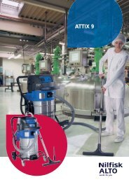 ATTIX 9 Series Wet and Dry Vacuums - Nilfisk-ALTO
