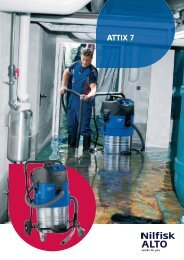 ATTIX 7 Series Wet and Dry Vacuums - Nilfisk-ALTO