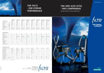 THE NEW ALTO ATTIX - WHY COMPROMISE THE ... - Nilfisk-ALTO