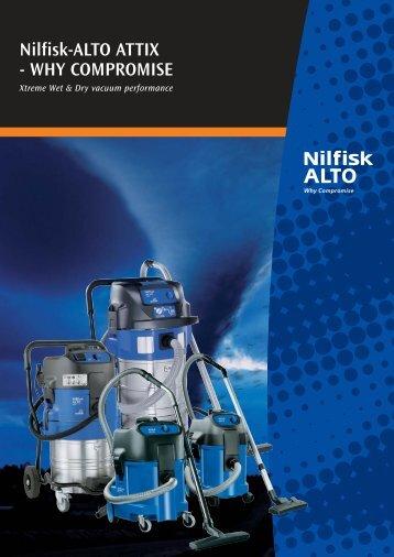 Nilfisk-ALTO ATTIX - WHY COMPROMISE