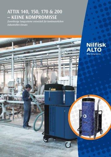 attix 140-200 - Nilfisk-ALTO