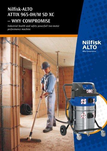 Brochure: BROCH. ATTIX 965-OH/MSDXC - GL - Nilfisk-ALTO