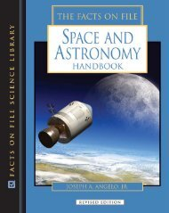 The Facts on File Space and Astronomy Handbook - PEEF's Digital ...
