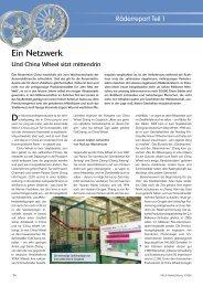 Felgenreport Teil 1: Ein Netzwerk 3/2006 - Reifenpresse.de