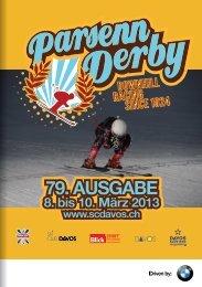 Flyer Parsenn Derby 2013 - Ski Club Davos