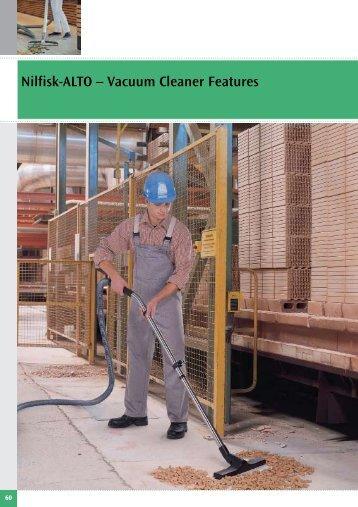 Nilfisk-ALTO – Vacuum Cleaner Features