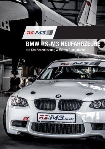 Imagebroschüre - RS Raceline