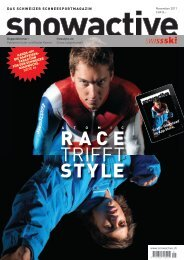 Ausgabe November 2011 > Download - Snowactive