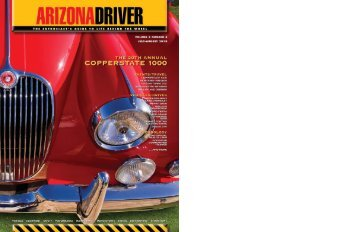 July-August 2010 - Arizona Driver Magazine
