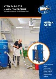 BAUDIENST Prospekt Nilfisk-ALTO ATTIX 145 & ATTIX 155 ...