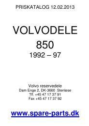 Volvo 850 - spare-parts.dk