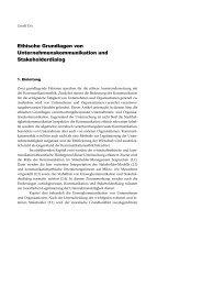 Ethische Grundlagen von Unternehmenskommunikation und ...