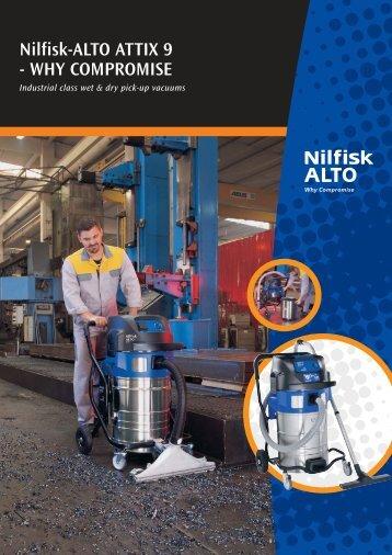 Nilfisk-ALTO ATTIX 9 - WHY COMPROMISE - Tisztitastechnologia.hu