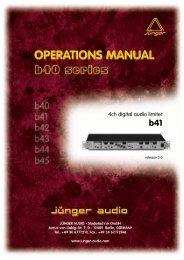 4ch digital audio limiter - Triple Audio
