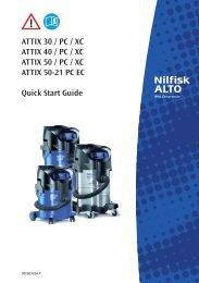 ATTIX 30-40-50 - Nilfisk PARTS - Nilfisk-Advance