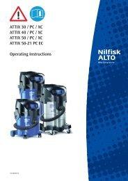 ATTIX 30-40-50 - 107400397 D.indb - Nilfisk PARTS - Nilfisk-Advance