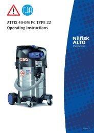 ATTIX 40 TYPE 22 - Nilfisk PARTS - Nilfisk-Advance
