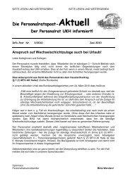 PR Aktuell 3-2010 - Wechselschichtzulage