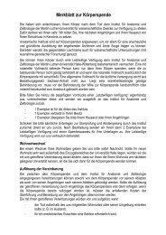 Merkblatt zur Körperspende - Medizinische Fakultät der Martin ...